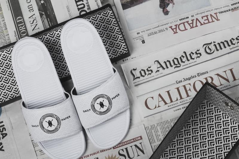 SANDALBOYZ Daily Paper White Sandal