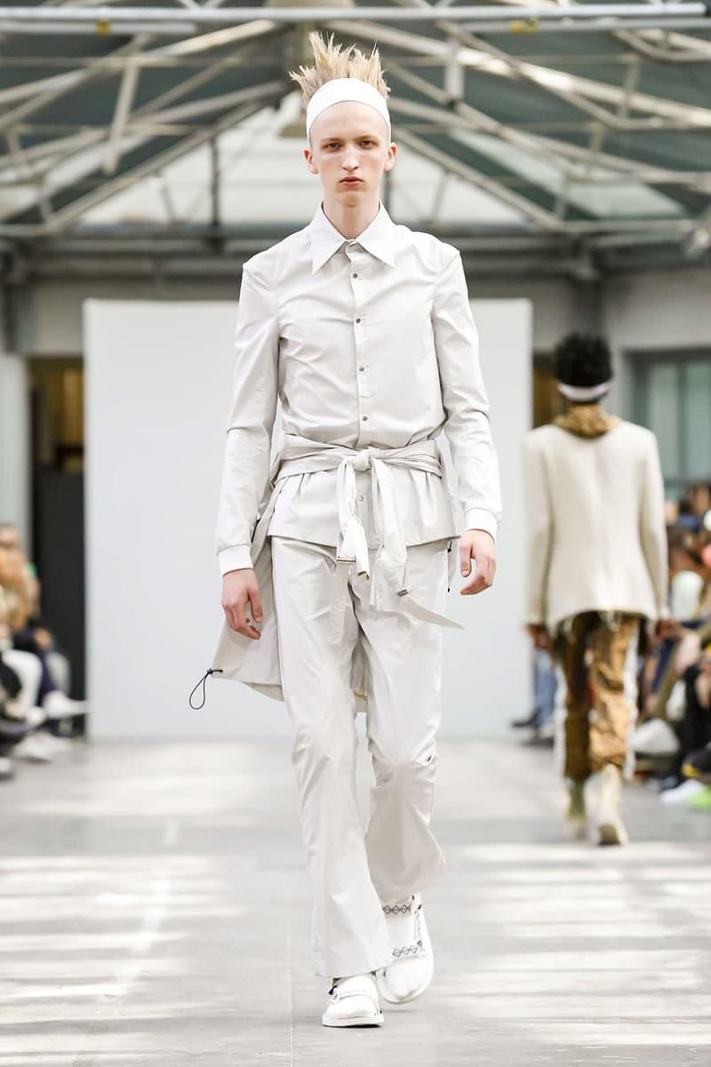 Sankuanz 2018 Spring/Summer Collection Paris Fashion Week Men's