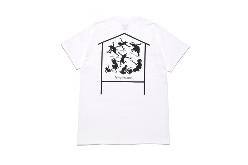 Sasquatchfabrix. Tengu SKATE Collection SUNDAY TEE SHIRTS