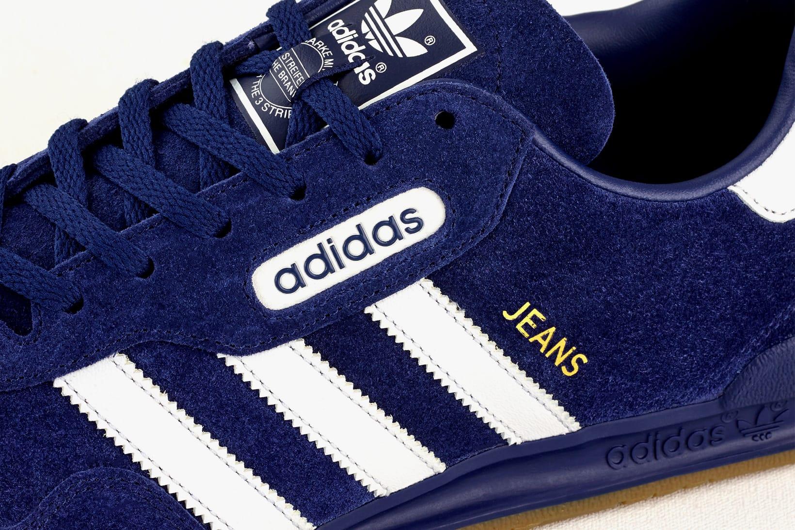 adidas Originals Jeans Super Blue Suede