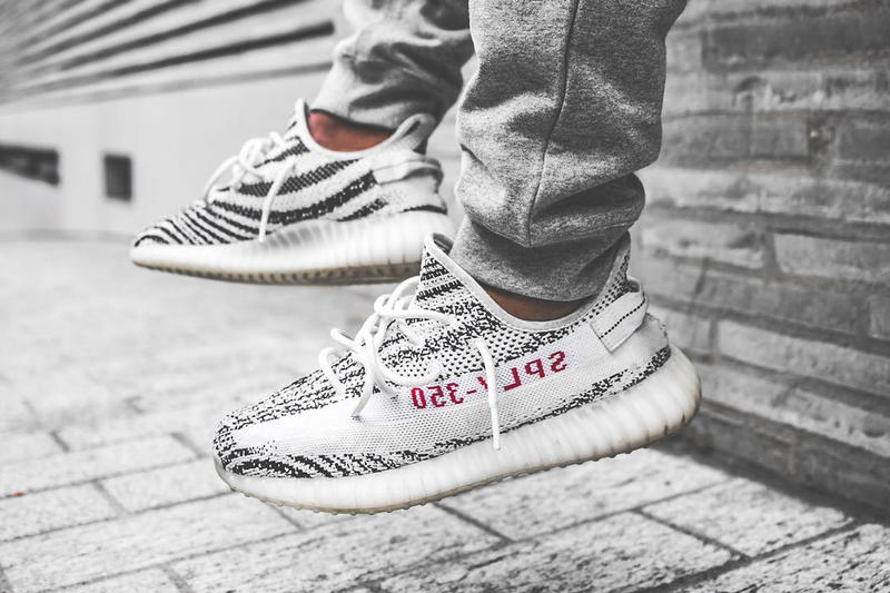 46c2997a7 Kanye West x adidas Originals YEEZY BOOST 350 V2 Zebra