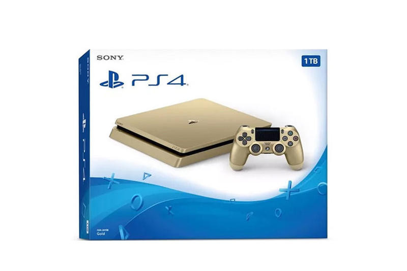 Sony PlayStation 4 Gold Release Discount Price Drop 1TB