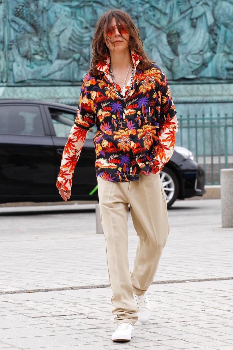 SSS World Corp 2018 Spring Summer Collection Paris Fashion Week Men's Lookbooks
