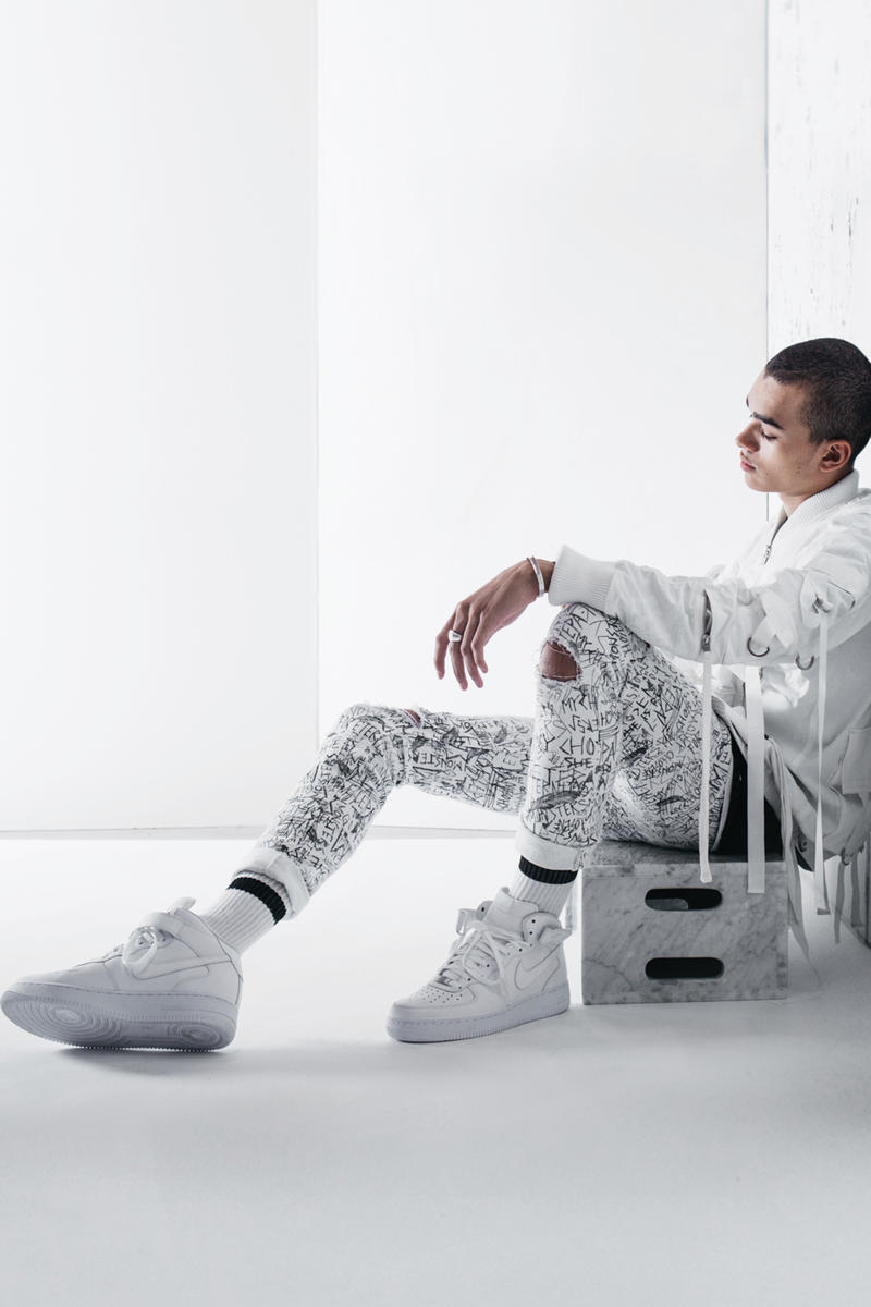 STAMPD Chris Stamp The Mummy Capsule Collection Collaboration Transparent Translucent Trench