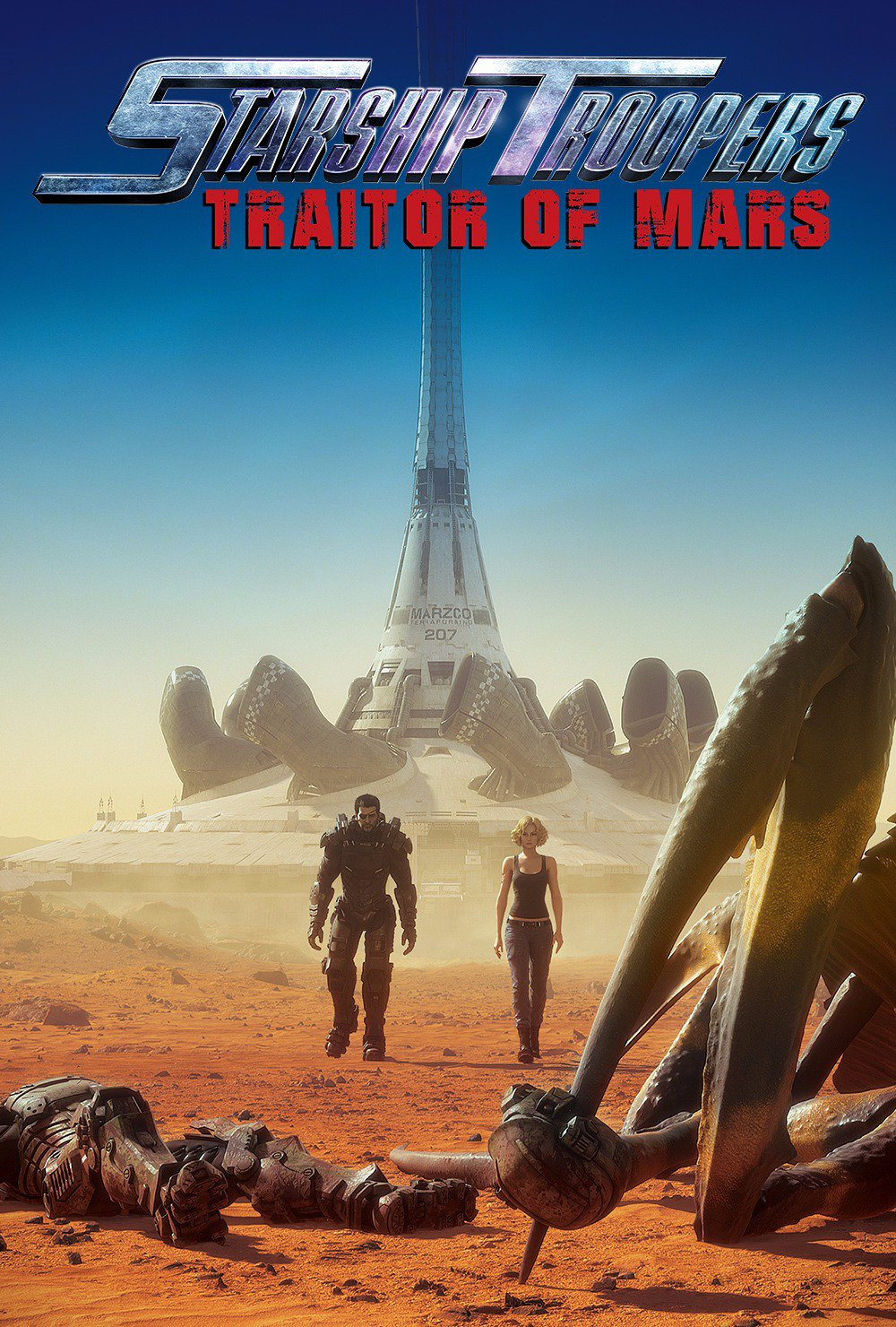 Watch the New Computer Animated 'Starship Troopers: Traitors of Mars' Trailer