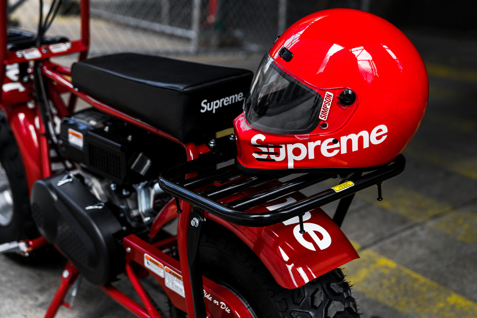 buy popular 84aa2 82224 Supreme x Coleman CT200U Mini Bike Closer Look   HYPEBEAST