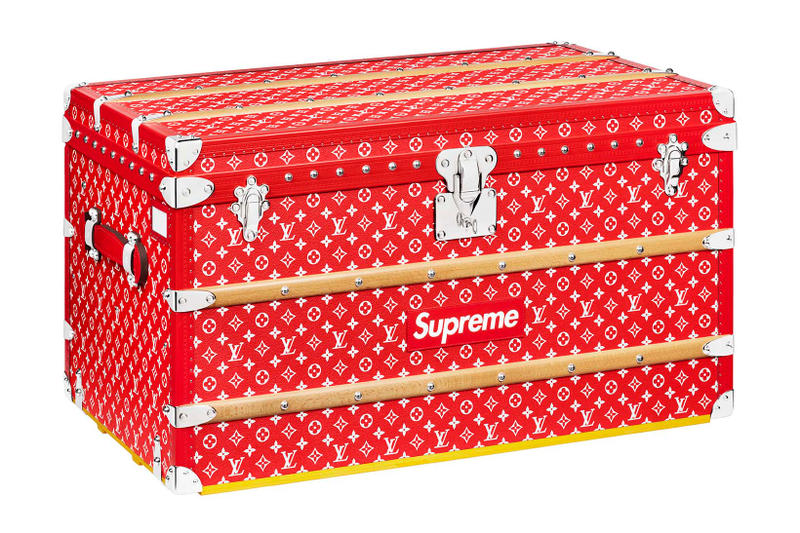 Supreme x Louis Vuitton Collection Box Logo