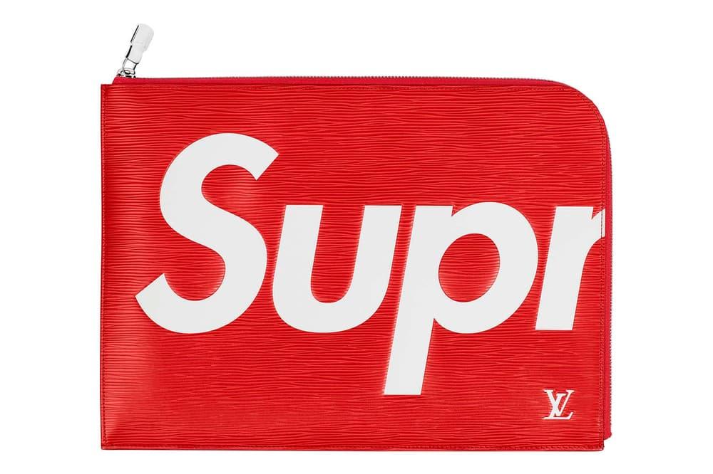 Supreme x Louis Vuitton Collection Box Logo