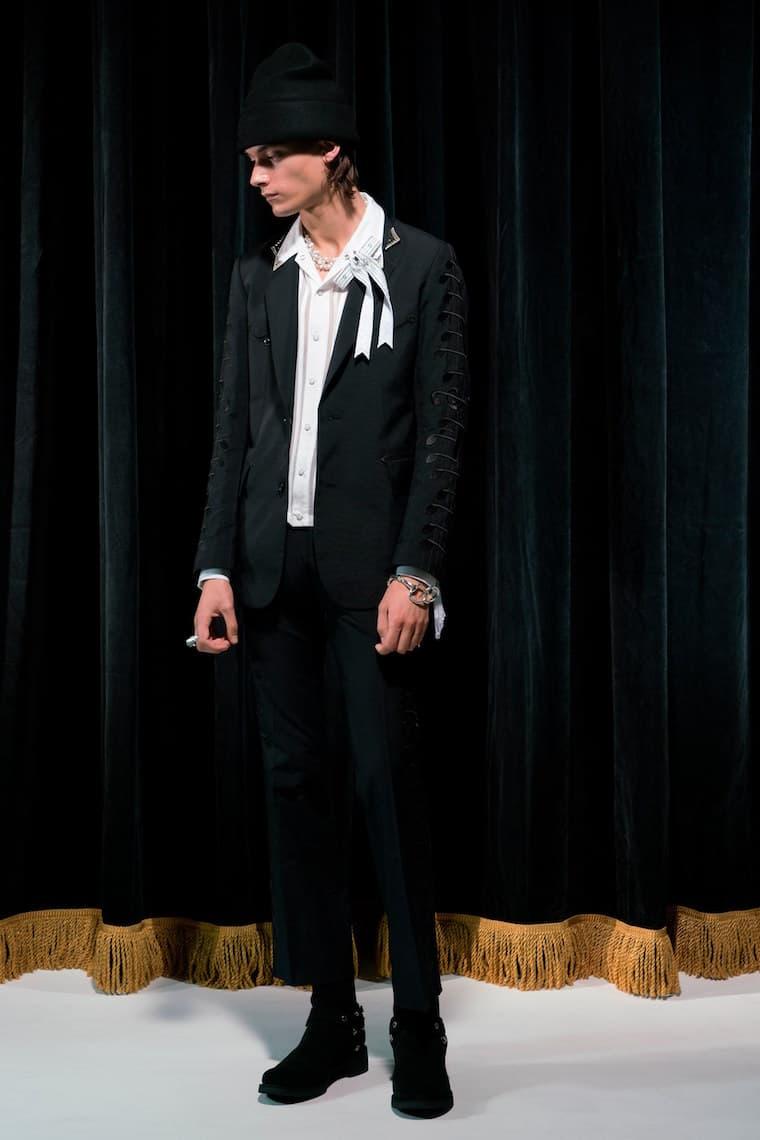 TAKAHIROMIYASHITA the SoloIst. Takahiro Miyashita Fashion Clothing Apparel Luxury Black 2018 Spring Summer Collection Paris Fashion Week Men's