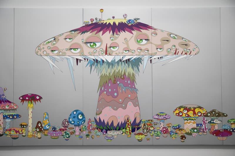 Takashi Murakami The Octopus Eats Its Own Leg MCA Chicago Exhibit