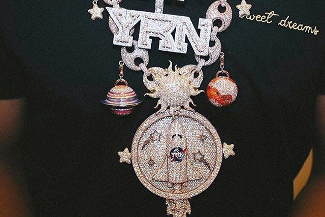 Takeoff's Solar System Chain Is Worth Around $500K | HYPEBEAST