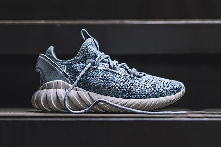 adidas Tubular Doom Soc Primeknit Light Blue Light Pink Colorway Release