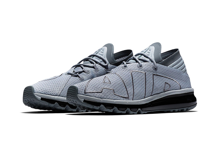 194978129b The Uptempo-Inspired Nike Air Max Flair Gets Released in Grey