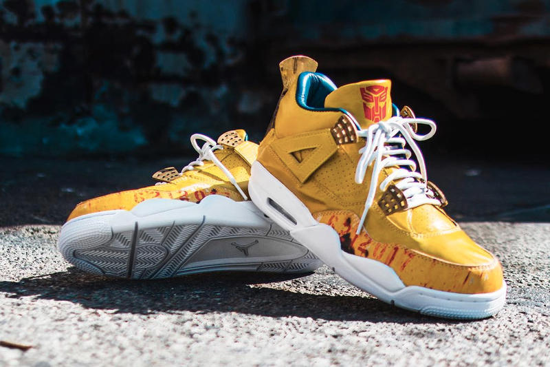The Shoe Surgeon Transformers Air Jordan 4 Custom Mark Wahlberg