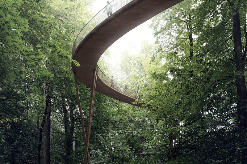 The Treetop Experience Denmark EFFEKT Nature Preserved Forest