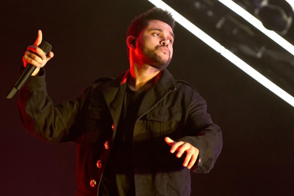 The Weeknd A$AP Rocky Playboi Carti French Montana Starboy Tour Brookyln