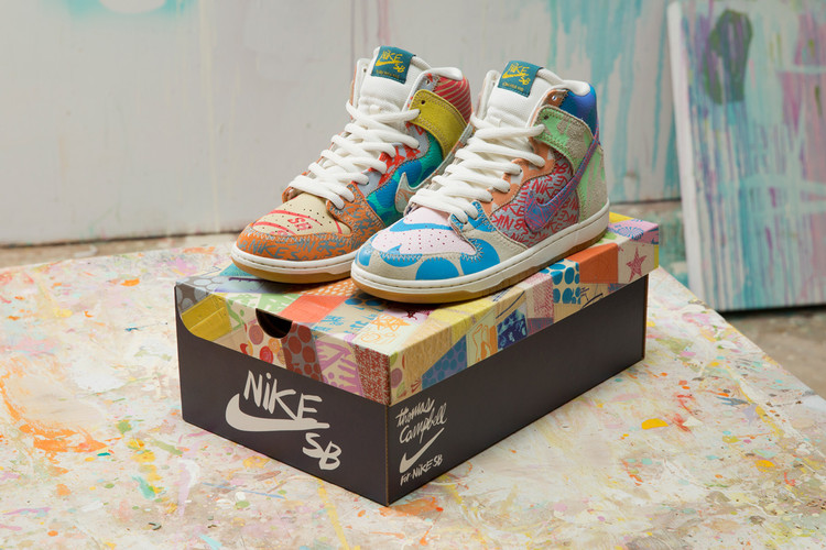 best cheap e8e6c 20b16 Atlas Is Releasing Thomas Campbell s Nike SB Dunk High Premium With  Exclusive Packaging