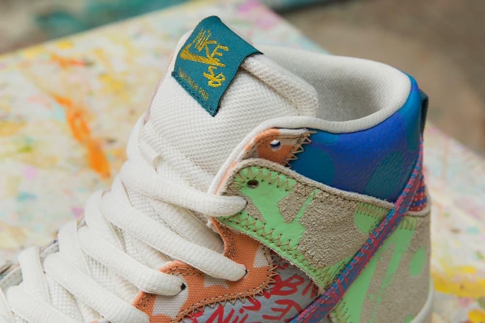 Thomas Campbell Nike SB Dunk High Premium Atlas Exclusive Box