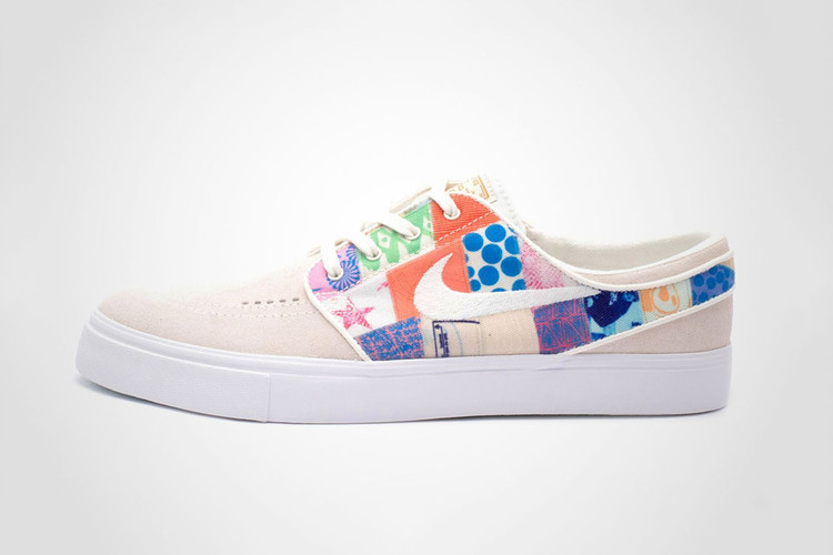 194adf4b5d8ea1 The Thomas Campbell x Nike SB Zoom Stefan Janoski Also Gets A  Colorfully-Patchworked Direction