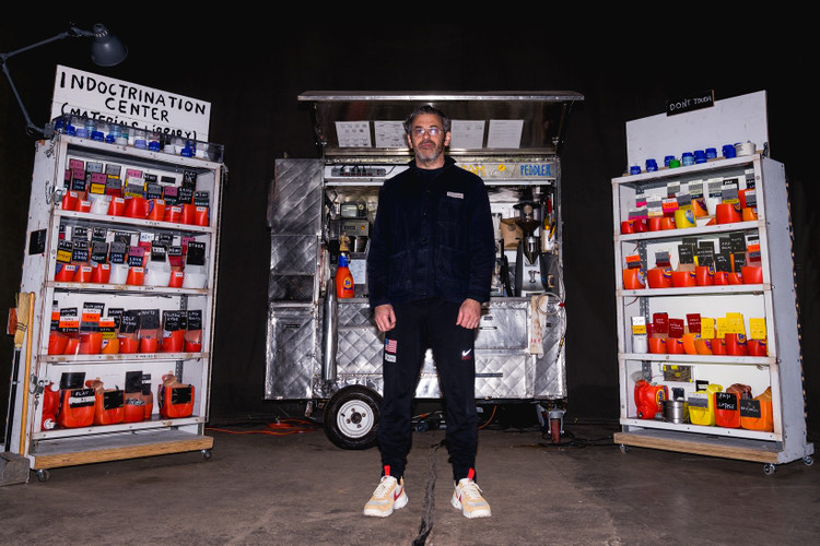 405c160ba31 Watch Tom Sachs Explain the NikeCraft Mars Yard 2.0 at His Space Camp  Installation