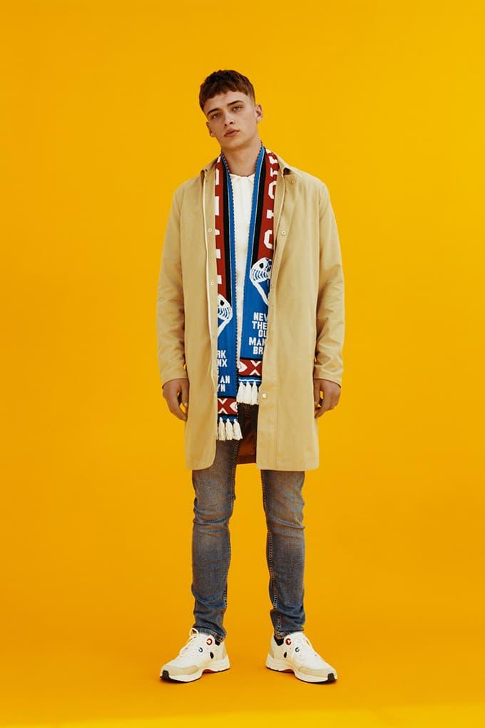 Topman 2017 Fall Winter Lookbook Lennon Gallagher