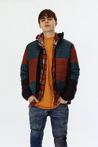 Topman 2017 Fall Winter Lookbook Lennon Gallagher
