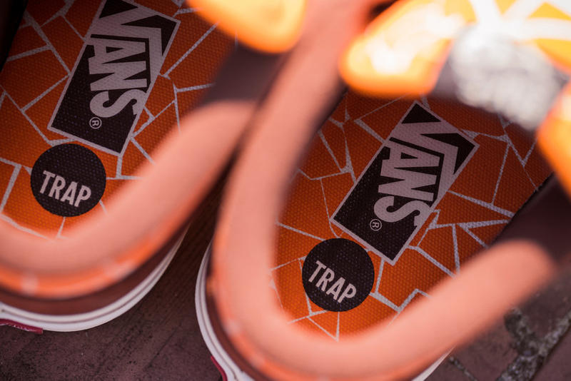 Trap Skateboards Vans Half Cab Save Wilhelmsburg Banks Skatepark