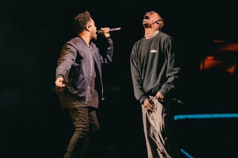 Travis Scott Surprise Appearance The Weeknd 'Starboy'