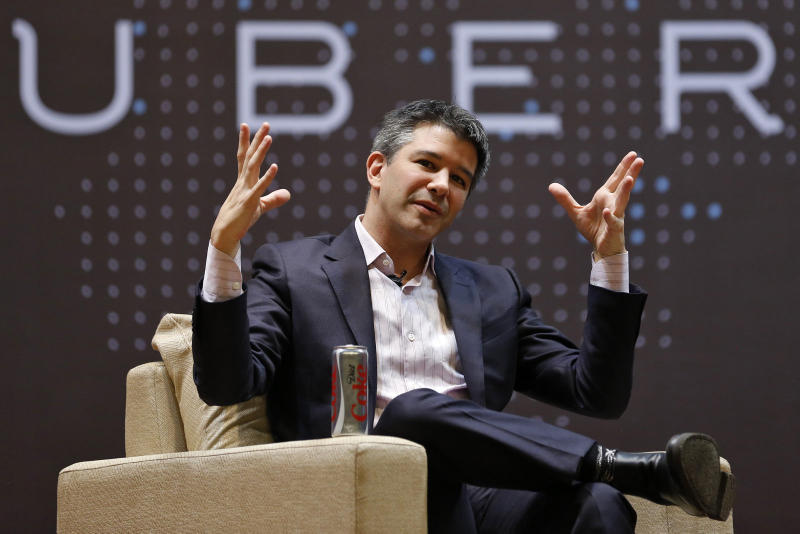 Uber CEO Travis Kalanick Steps Down Scandals