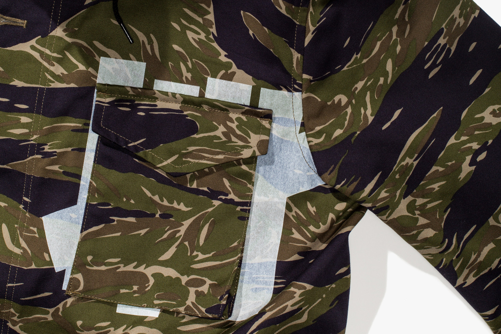 UNDEFEATED UNDFTD GOODENOUGH Tiger Camo Capsule Collection Flight Jacket Flight Pants Hoodie