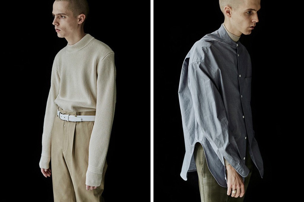 Up and Coming Contemporary Japanese Menswear Labels of 2017 ID DAILYWEAR Scye Wrapinknot AURALEE uru