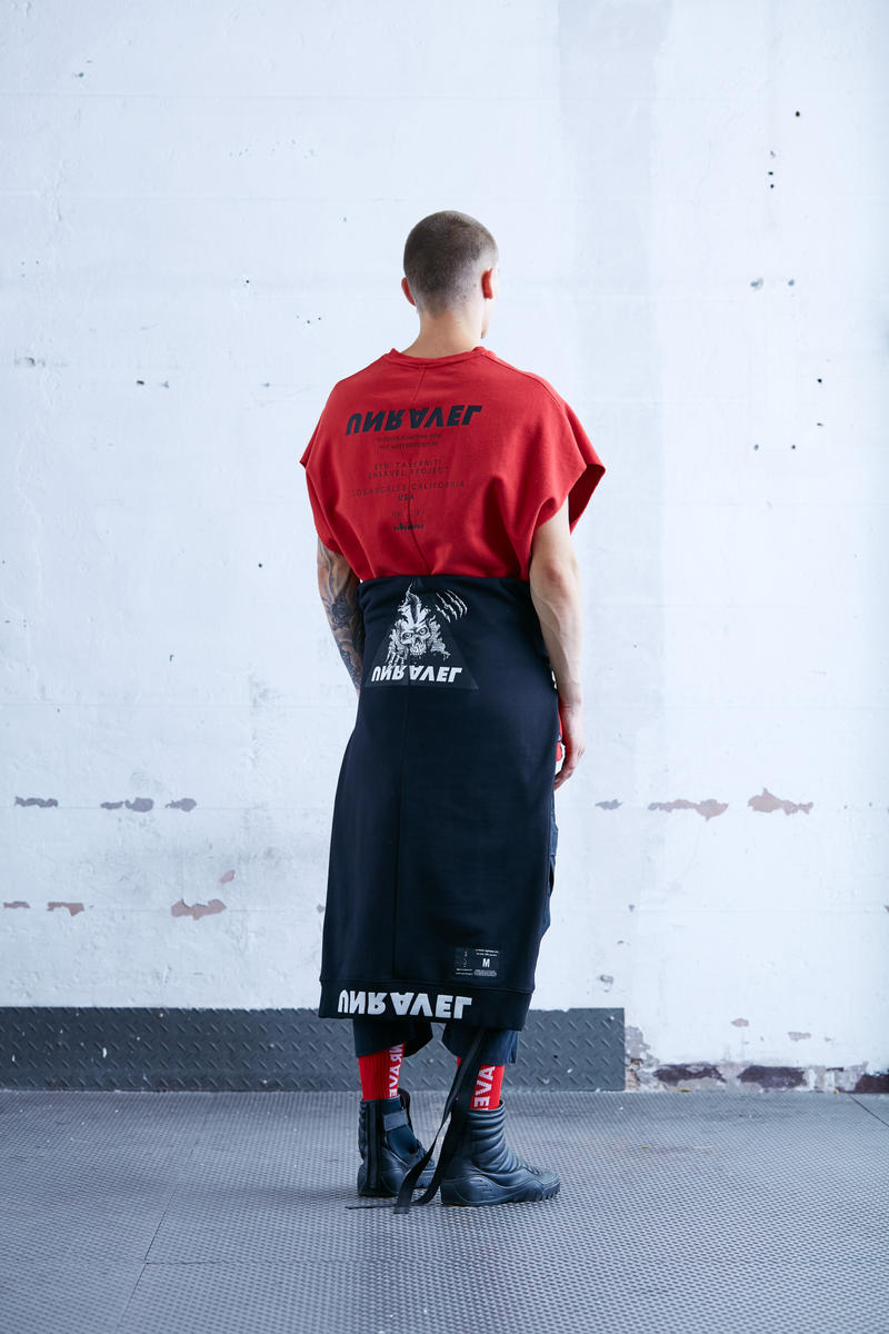 Unravel 2018 Spring Summer Collection Lookbook