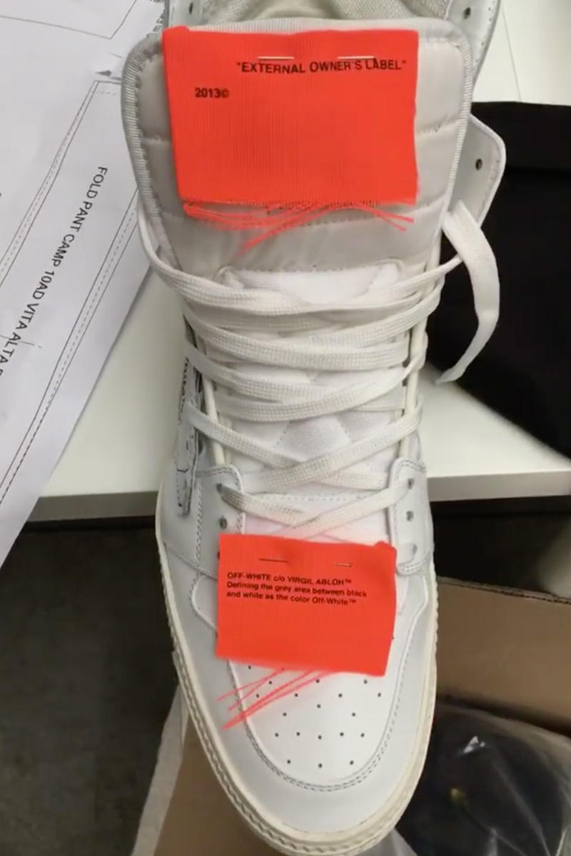Bloody Osiris Styles OFF-WHITE Off-Court Sneakers