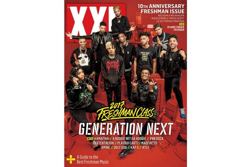 2017 XXL Freshmen Class Cypher