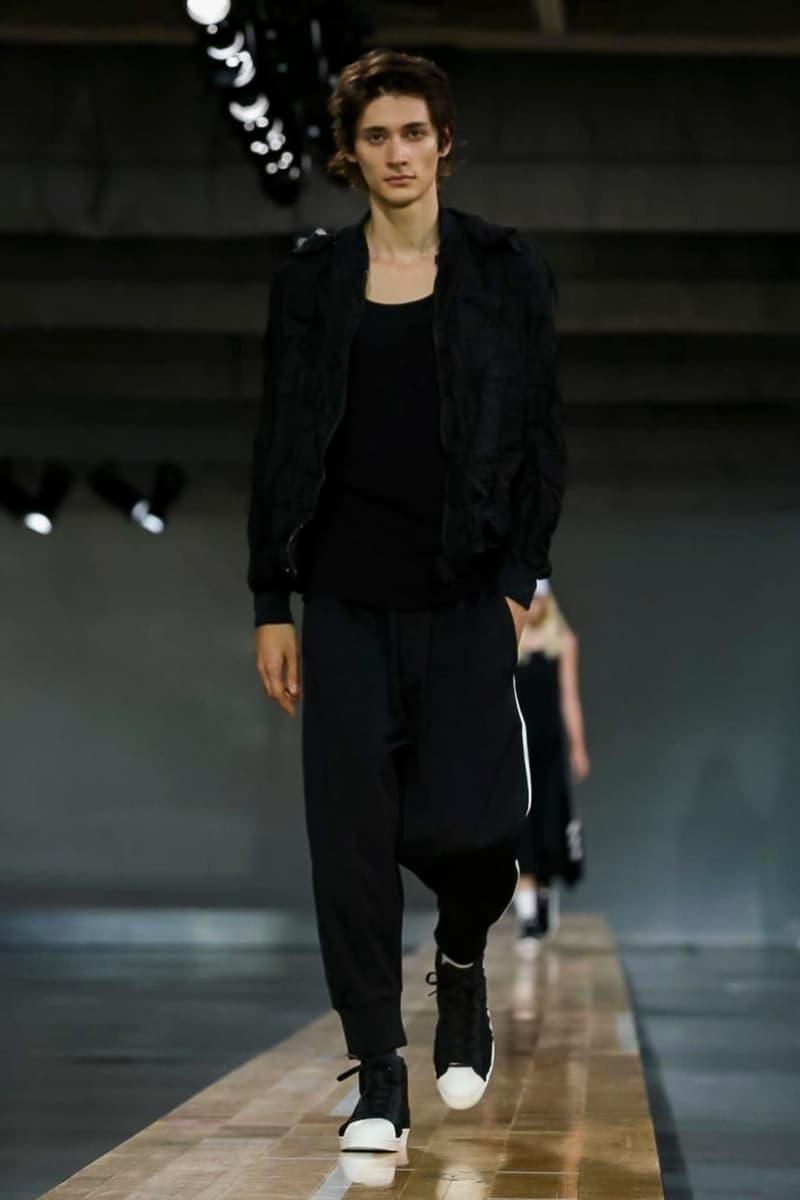 Y-3 2018 Spring/Summer Collection Paris Fashion Week Men's