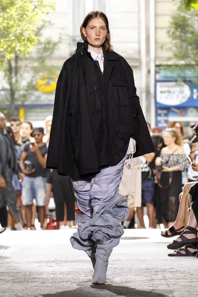 Y/Project 2018 Spring/Summer Paris Fashion Week Men's Runway Show