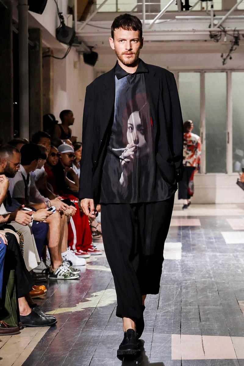 Yohji Yamamoto 2018 Spring Summer Collection Paris Fashion Week Men's Runway Show