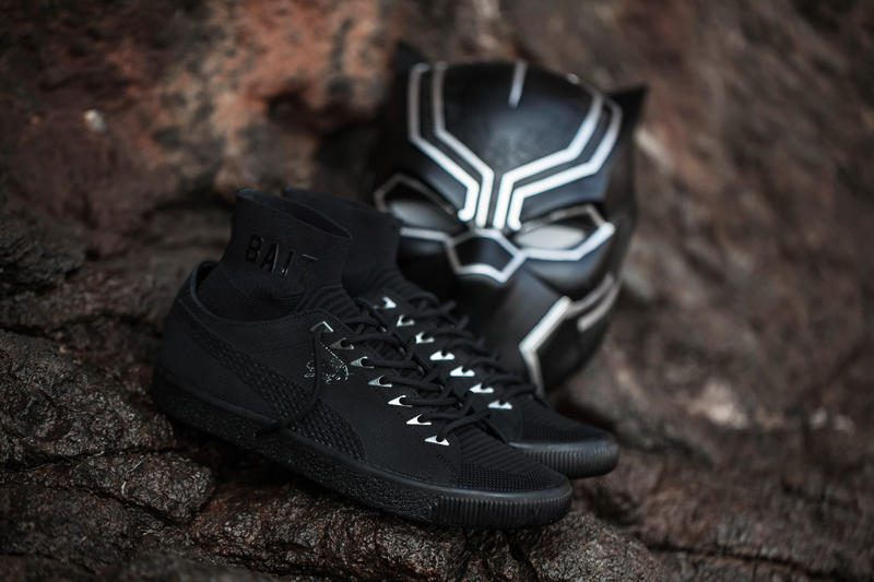 BAIT Black Panther PUMA Clyde Sock San Diego Comic Con 2017 Comics Marvel Superhero