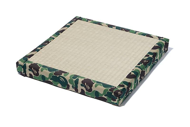 BAPE Releases New Tatami Cushion  6deef6efbf