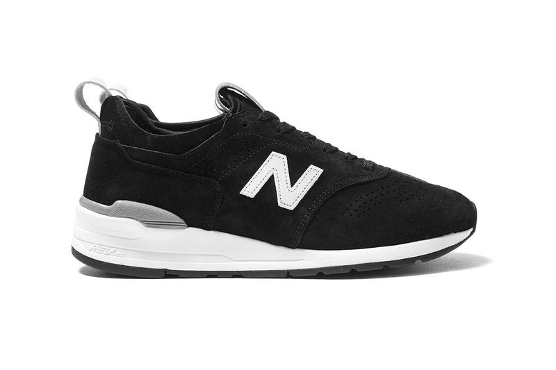 New Balance 997 Deconstructed Black Colorway