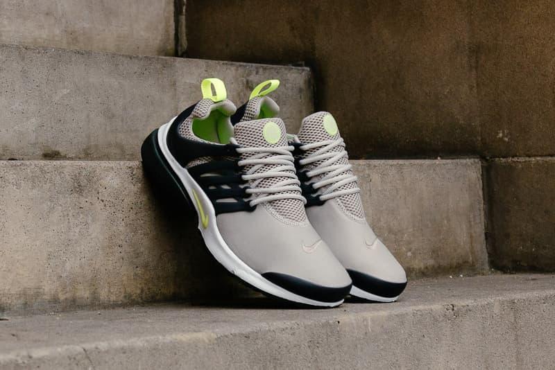 Nike Air Presto Essential Cobblestone and Volt