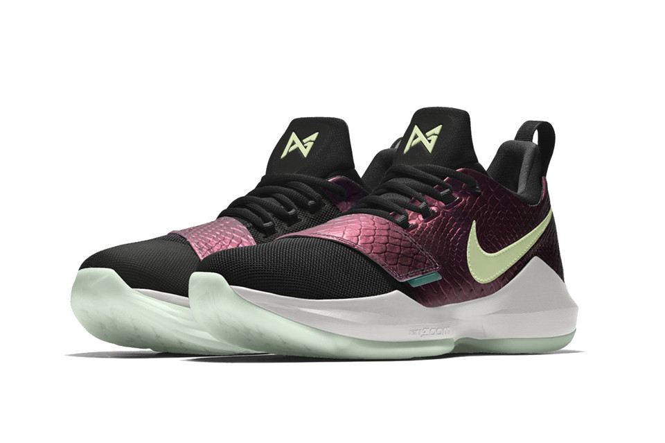 sale retailer 27bc7 29f66 You Can Now Make Your Own Flavor of the Nike PG1 via NIKEiD