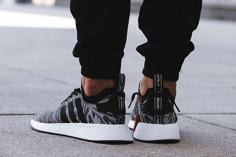 On Feet Look adidas NMD R2 Harvest