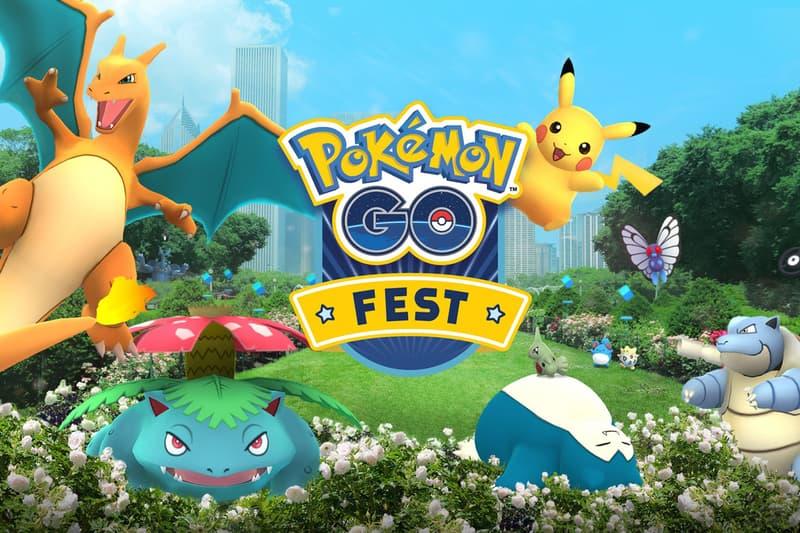 Pokémon GO First Anniversary Events