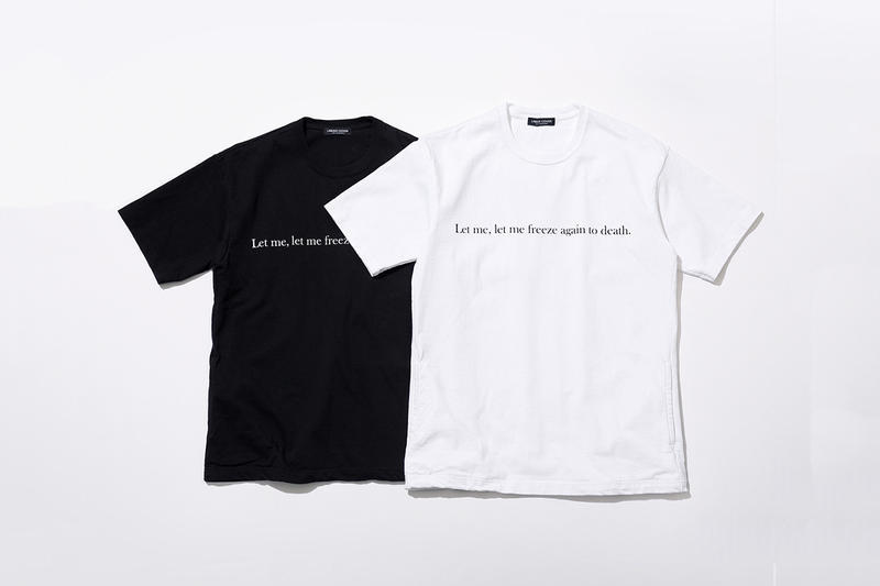 UNDERCOVER Joy Division, Patti Smith and Klaus Nomi Capsule