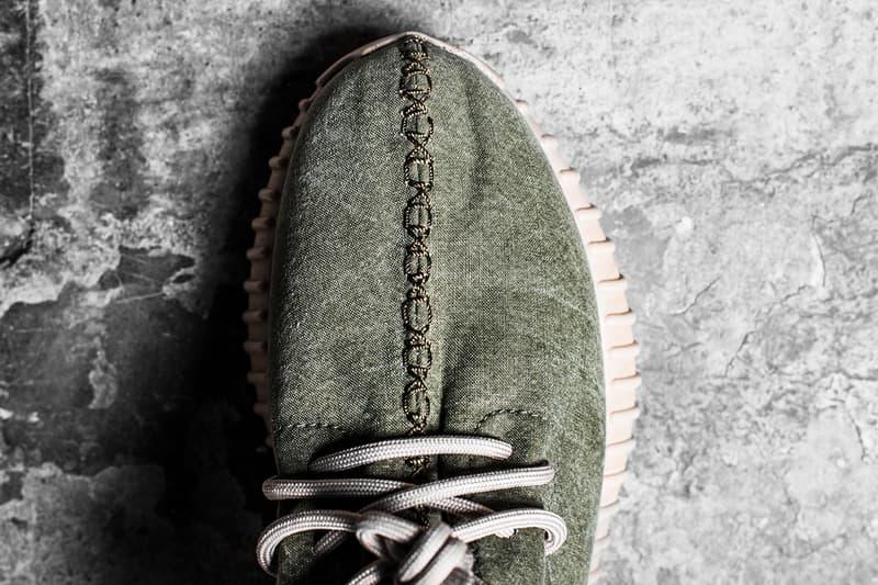 Shoe Surgeon Military Fabric Yeezy Boost 350