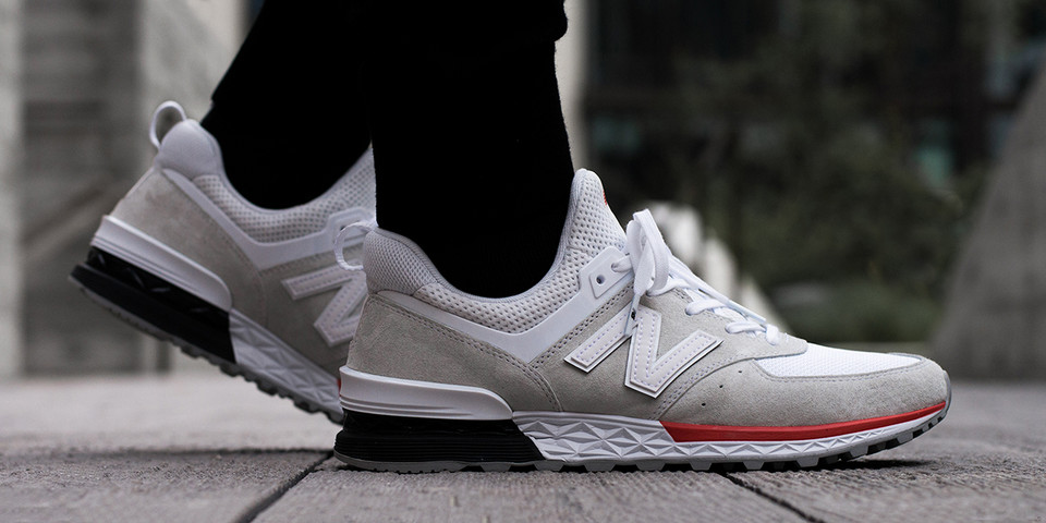 factory authentic d0f36 7dff4 A Closer Look New Balance 574 Sport Video | HYPEBEAST