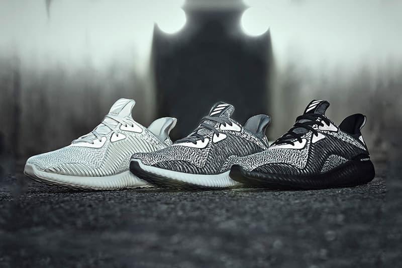 adidas AlphaBOUNCE Reflective Pack Black Silver Tan