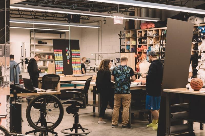 adidas Creative the Farm HQ brooklyn Marc Dolce office inside headquarters workspace space desgin