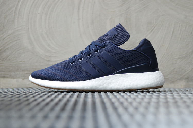 73c3853109a adidas Swathes the Busenitz Pure Boost in Navy. Footwear